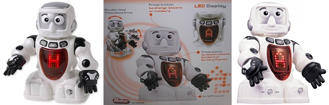 Bilingual Alpha Robot by Redbox.