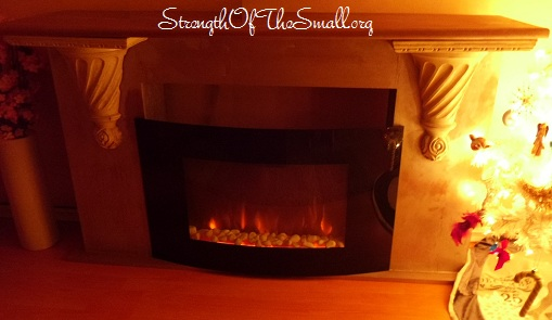 DIY Fireplace Mantel.