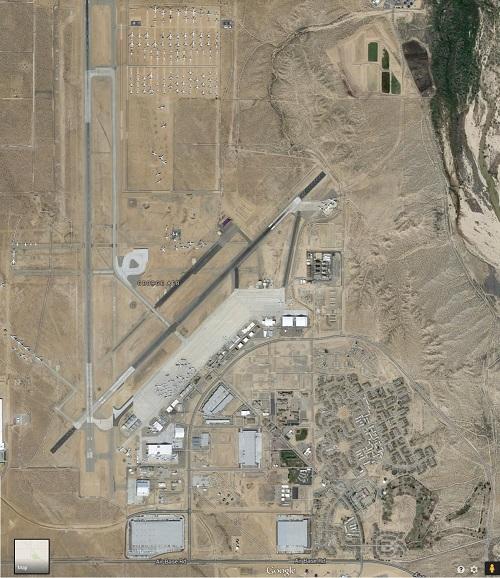 George Air Force Base (Google Aerial View).