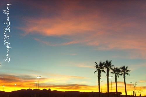 High Desert Sunset.