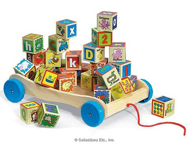 Learning Blocks Wagon.