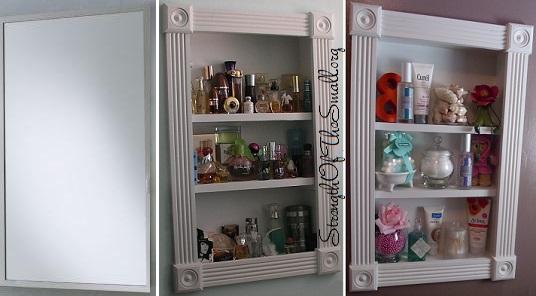 Medicine Cabinet As Display Cabinet.