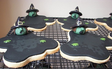 Melting Witch Cookies