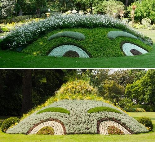 'Monsieur et Madame Génie', Claude Ponti, Jardin des plantes, Nantes.