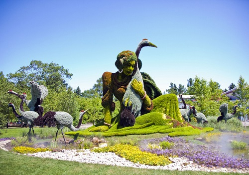 Montreal Botanical Gardens. Image Credit: Guy Boily.