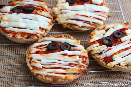 Mummy Pizzas. Source.