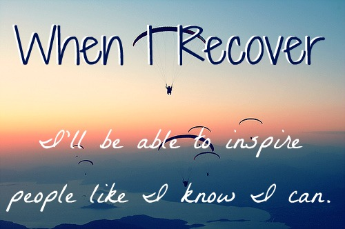 When I Recover ... (Source).